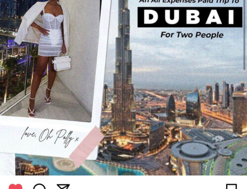Win an all expenses paid trip to Dubai with Oh Polly